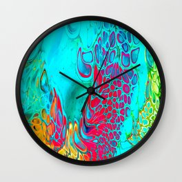 Hot & Cold Vibes Wall Clock