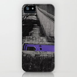 Purple door iPhone Case