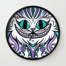 Chesire Smile Wall Clock