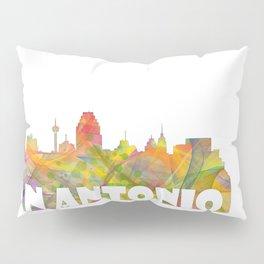 San Antonio, Texas skyline MCLR 2 Pillow Sham