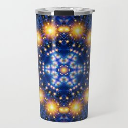 Star Burst Mandala Travel Mug