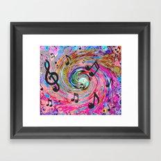 Musical Framed Art Print