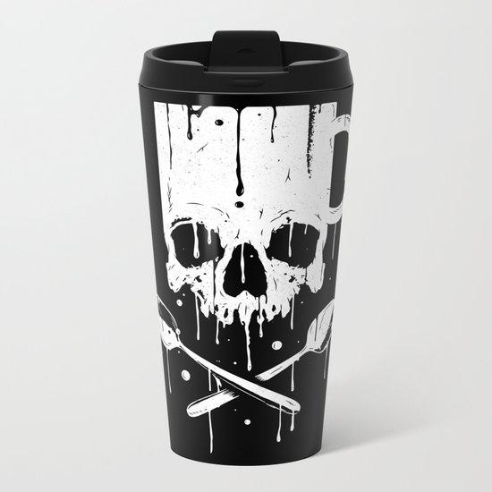 Coffee Pirates Metal Travel Mug