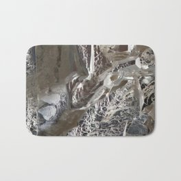 Silver Crystal First Bath Mat