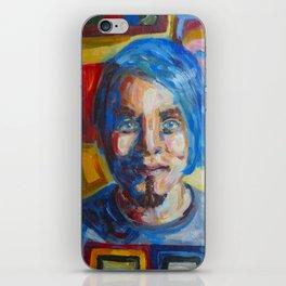 Zack Portrait iPhone Skin