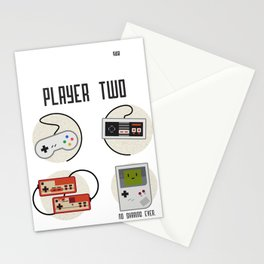 Player Two Stationery Cards