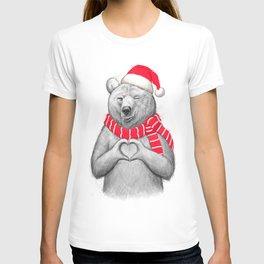 christmas bear #2 T-shirt