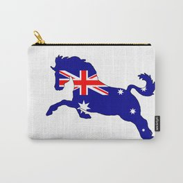 Australian Flag - Horse Carry-All Pouch