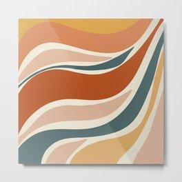 Sun Ray - Modern Art Print Metal Print