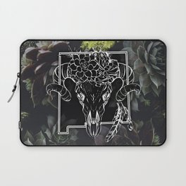 Skull and Succulants Laptop Sleeve