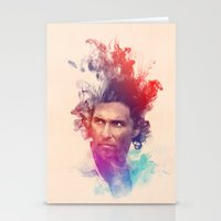 true detective Stationery Cards featuring True Detective by Pepe Psyche