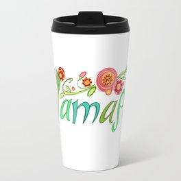 Namaste Yoga Girls Travel Mug