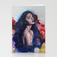valentina Stationery Cards featuring Valentina by Candice Ariel