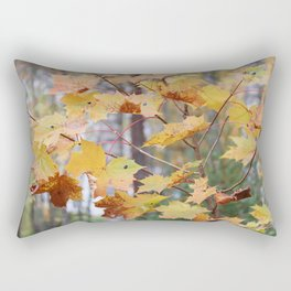 Maple tree in fall colors Rectangular Pillow