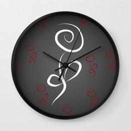 Flowers M1 Wall Clock