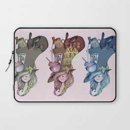 Alice, Hatter, Mouse, Hare Laptop Sleeve