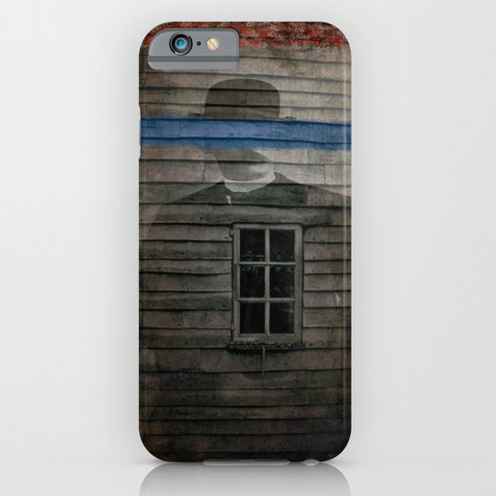 man behind the stache iPhone & iPod Case