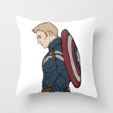 Capt. America Throw Pillow