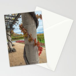 Column with Grapevine Stationery Cards