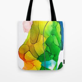 Fiesta Ink Abstract Tote Bag