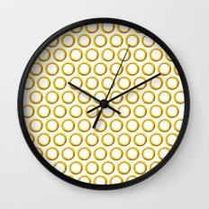 Sonic rings x180 Wall Clock