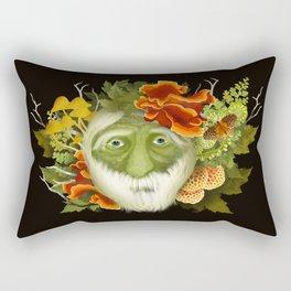 The Green Seer Rectangular Pillow