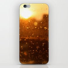 Rain Sunset I iPhone & iPod Skin