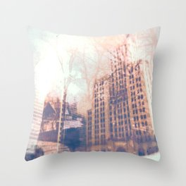 Double Providence  Throw Pillow