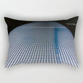 Twin Tower 2 Rectangular Pillow