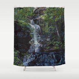 Empress Falls Shower Curtain