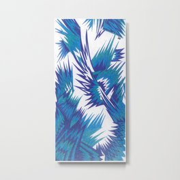 Peacock Alley Metal Print