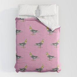 Cockatiel bird Comforters
