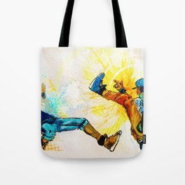 Crazy Legs Tote Bag