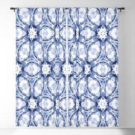 Denim Kaleidoscope Blackout Curtain