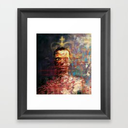 The crown Framed Art Print