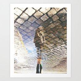 check your surroundings Art Print
