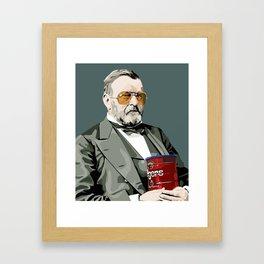 President Grant Framed Art Print