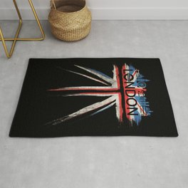 London Pride_Black Rug