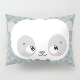 Monsieur Panda Pillow Sham
