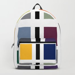 COLORFUL COLOR BLOCK Backpack