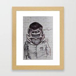Pelvis Presley Framed Art Print
