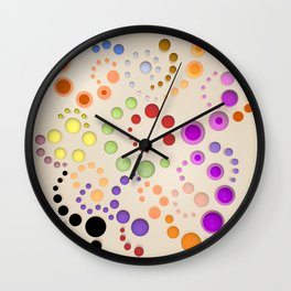 Abstract Composition 629 Wall Clock