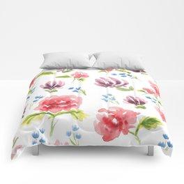 Springtime Flowes Comforters