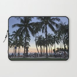 Sunset on Waikiki Laptop Sleeve