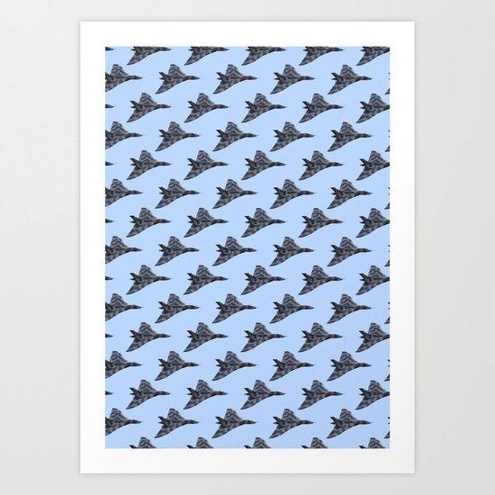 Avro Vulcan Bomber Art Print