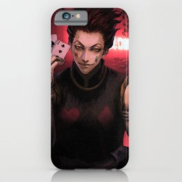 HunterXHunter Hisoka iPhone Case