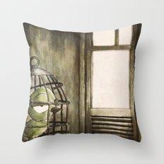 Le Samourai Throw Pillow