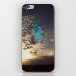 Gap in the Sky iPhone Skin