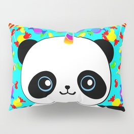 Pandacorn Candy Pillow Sham