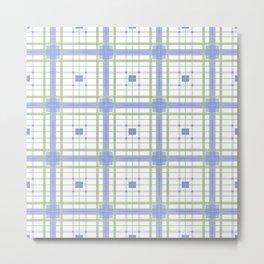 AFE Tartan Pattern3 Metal Print